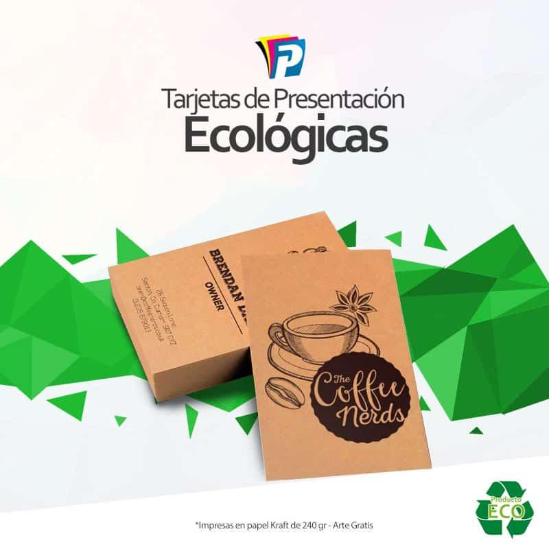 Tarjetas ecológicas El Salvador