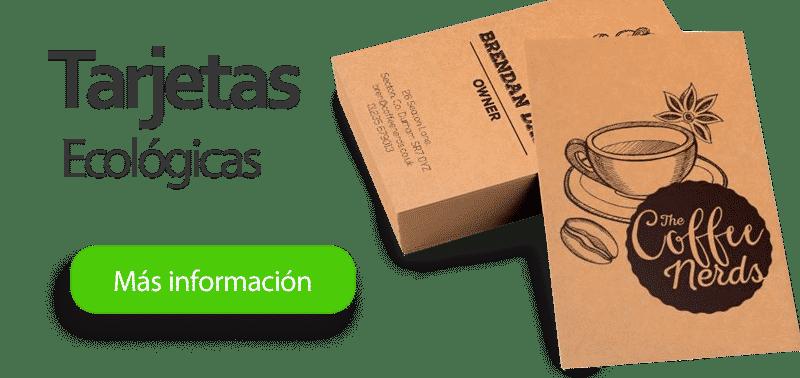 Tarjetas Ecológicas en papel Kraft