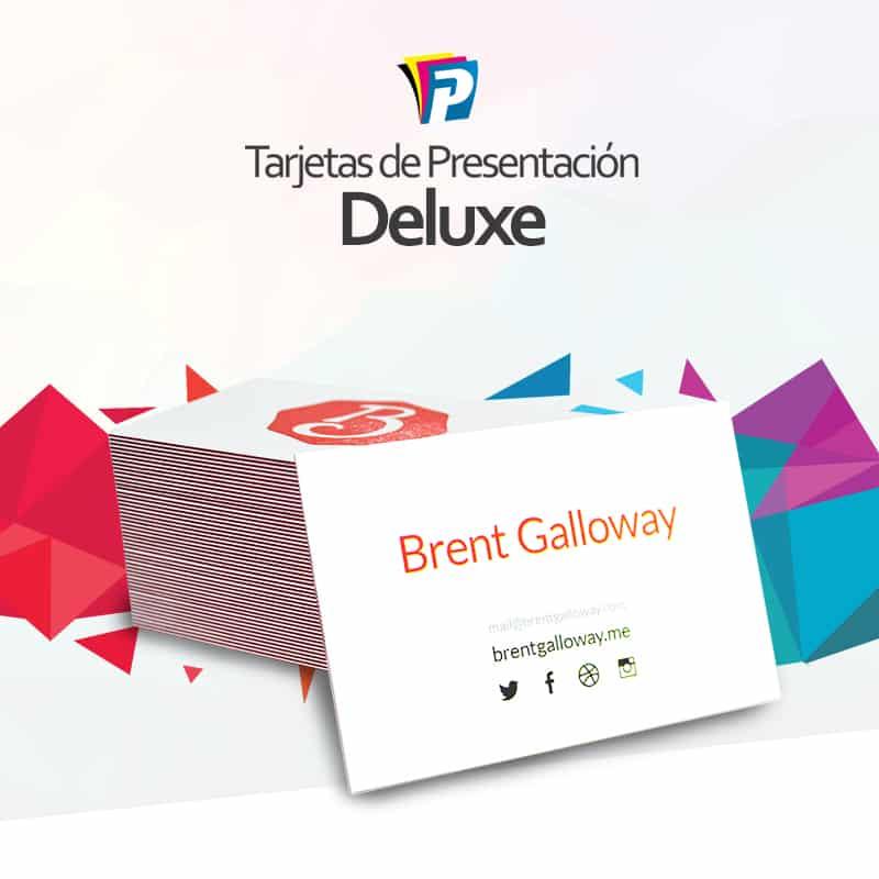 Tarjetas de Presentación Deluxe