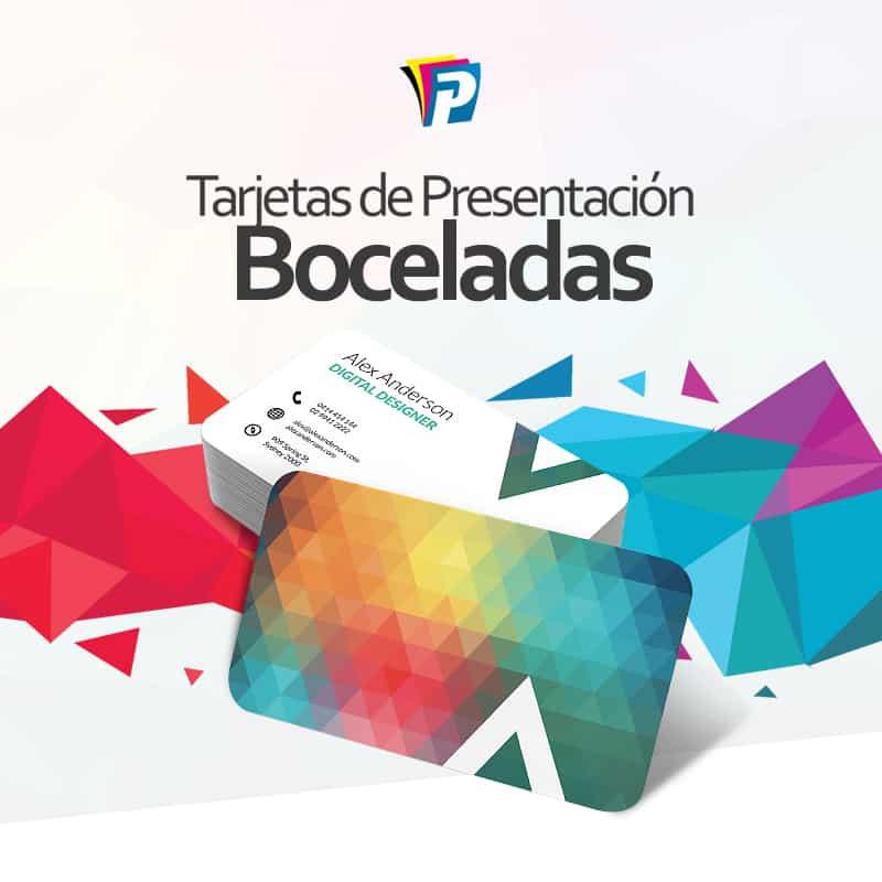 Tarjetas Boceladas