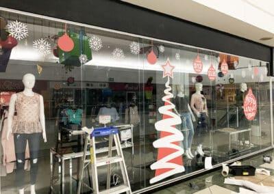 Instalación en Centro Comercial