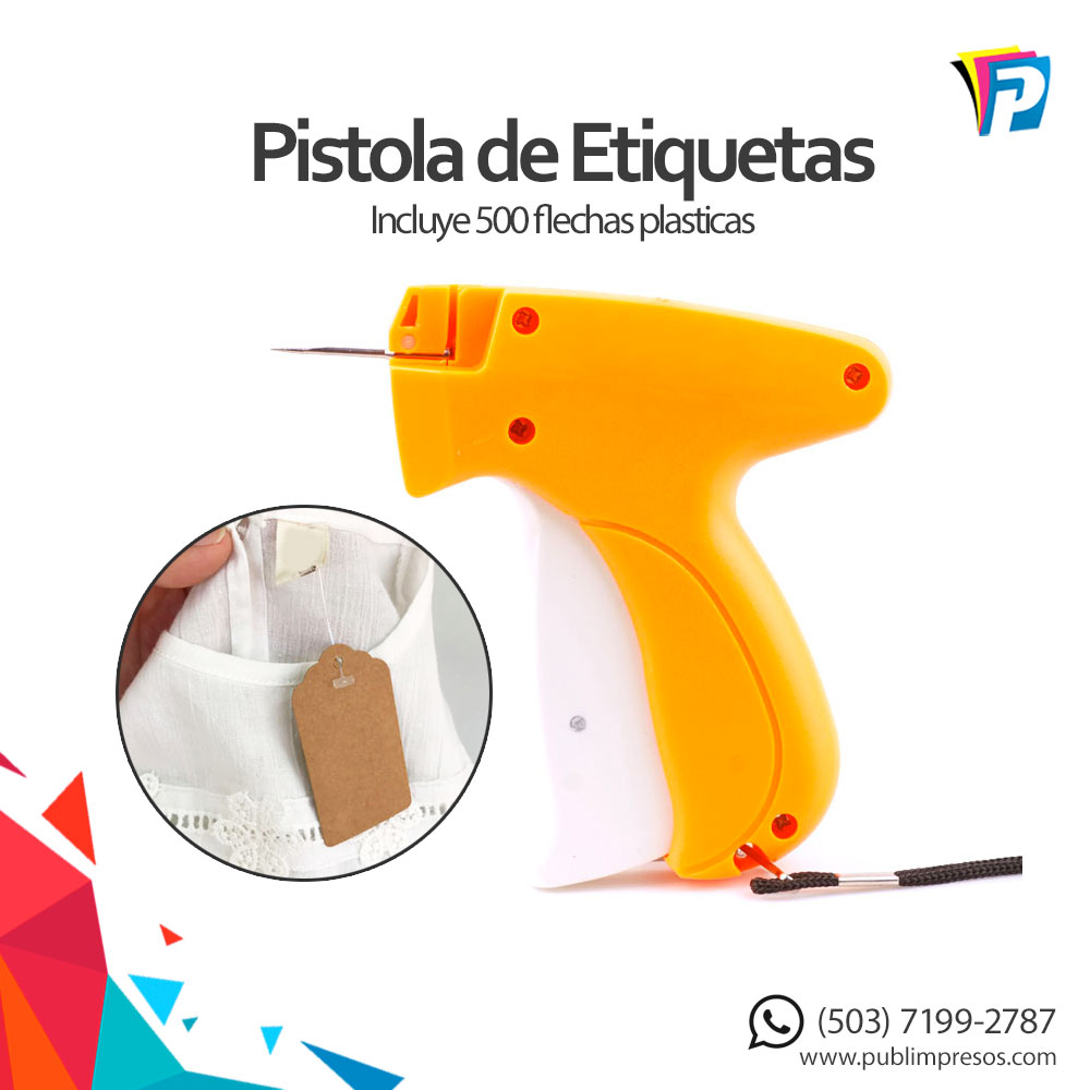 pistola de etiquetas